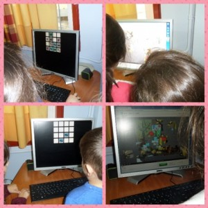 Παίζοντας διαδικτυακά παιχνίδια που δημιούργησαν οι φίλοι μας