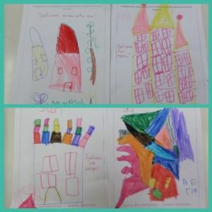 Σχεδιάσαμε σπίτια κάστρα και παλάτια