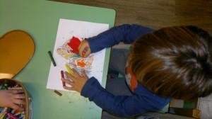 Ζωγραφική με oil pastel