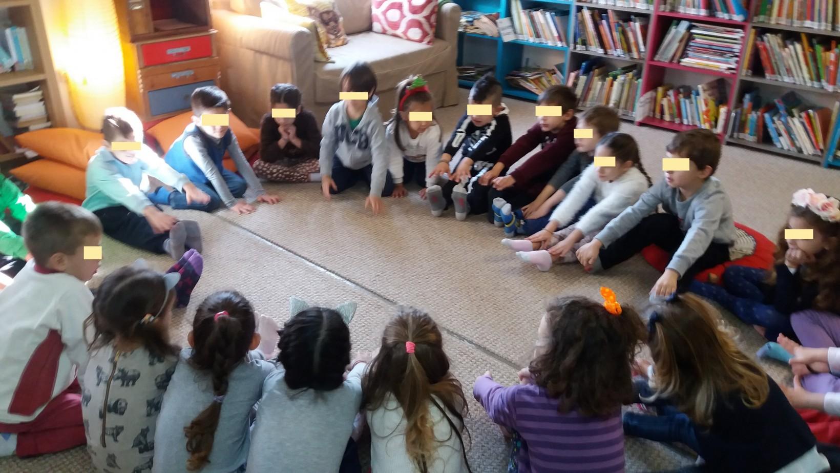 Χριστουγεννιάτικο πρόγραμμα φιλαναγνωσίας στη Νέα Βιβλιοθήκη του Φουγάρου