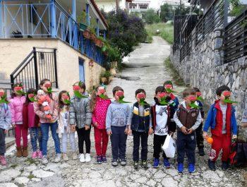 Κάλαντα του Λαζάρου από τους μικρούς μαθητές του 6ου 1/Θ Νηπιαγωγείου Ναυπλίου