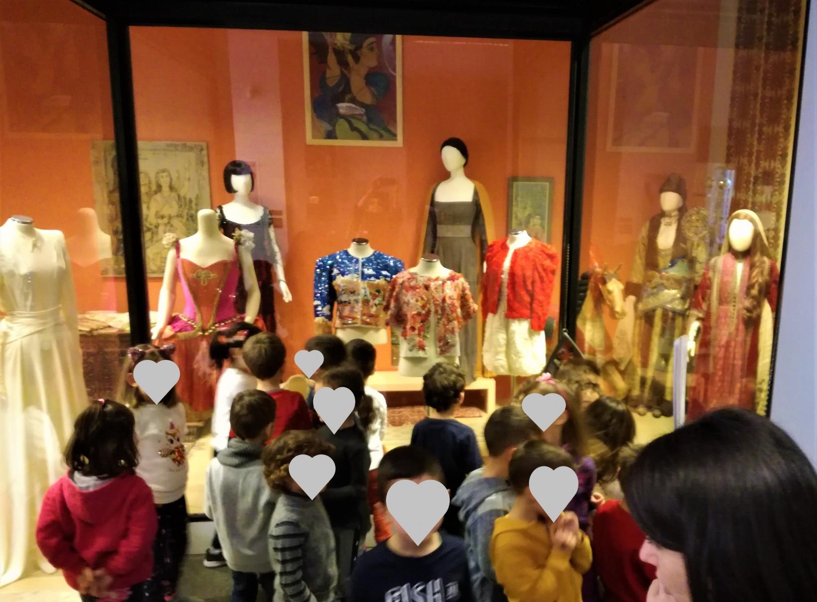 Σχέδια, σχήματα, χρώματα στο Λαογραφικό Μουσείο Ναυπλίου