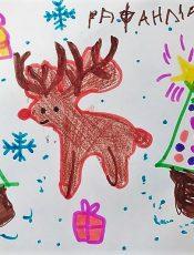 Ζωγραφιές για τα νοσοκομεία της Αργολίδας από τους μαθητές του 6ου Νηπιαγωγείου Ναυπλίου