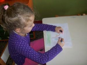 ...τώρα πρέπει να ζωγραφίσουμε το εξώφυλλο του βιβλίου μας....