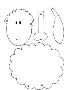 πατρόν για πρόβατο