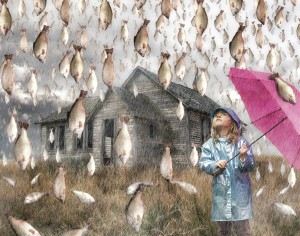 Rain-of-fish