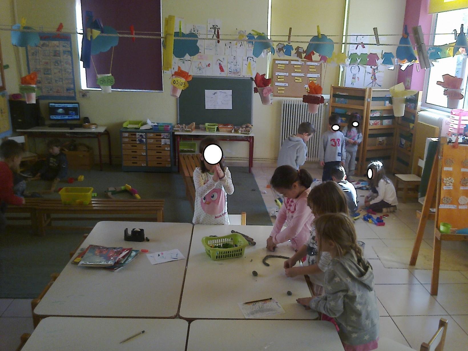 τα παιδιά χωρίστηκαν σε ομάδες και προσπάθησαν με διάφορα υλικά να φτιάξουν  ιγκλού. ποιος τα 56b2fc6e519
