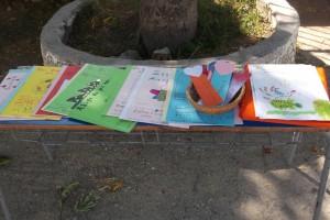 Τα βιβλία μας, τα ανίγματα που γράψαμε και οι σελιδοδείκτες που θα δωρίσουμε στους γονείς,