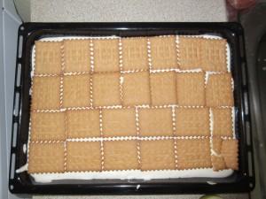 Τα μπισκότα με γέμιση παγωτού.
