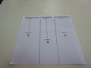 Ψηφοφορία.