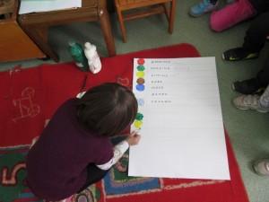 Δημιουργούμε το δικό μας πίνακα αναφοράς χρωμάτων.