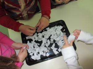 Διαδικασία δημιουργίας ανακυκλώσιμου χαρτιού.