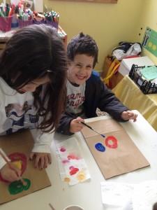 Ζωγραφίσαμε τις Δωροσακούλες μας