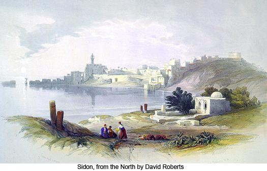David_Roberts_Sidon_from_the_North_525