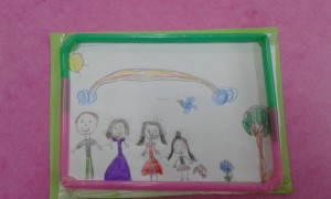my family frame