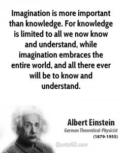 einstein about imagination
