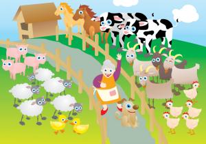 living on a farm B5