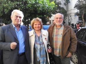 Με τα ιδρυτικά μέλη της ΠΕΦ Γιώργο Μαστορίδη και Γιώργο Κρικώνη