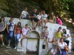 Η ομάδα στην Μονή Ευαγγελίστριας στη Σκιάθο.
