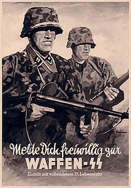 προτρεπτική αφίσα προς κατάταξιν στα «ένοπλα» SS. Πηγή: http://vi.wikipedia.org/wiki/T%E1%BA%ADp_tin:Waffen-SSposter01.jpg