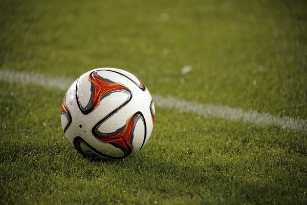 Mar 15, 2014; Houston, TX, USA; MLS soccer ball rests on the grass during the second half of the game between the Houston Dynamo and the Montreal Impact at BBVA Compass Stadium. Mandatory Credit: Andrew Richardson-USA TODAY Sports